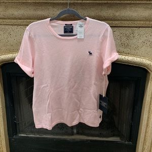 A&F Cashmere Tshirt in Pink